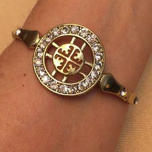 Sparkly Beautiful reflective medallion bracelet